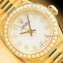 Rolex Oyster Perpetual 26 usados 24mm Madreperla Oro amarillo