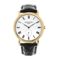 Patek Philippe Calatrava Yellow gold 36mm White Roman numerals United States of America, New York, New York