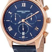 Frederique Constant Classics Chronograph Gold/Steel Blue United States of America, Florida, North Miami Beach
