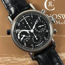 Chronoswiss Tora Steel 38mm Black Arabic numerals