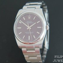 Rolex Oyster Perpetual 34 Staal 34mm Rood Nederland, Maastricht