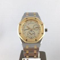 Audemars Piguet Royal Oak Dual Time Золото/Cталь 36mm Цвета шампань Без цифр