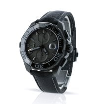 TAG Heuer Aquaracer 300M Titanium 43mm Black No numerals