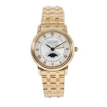 Blancpain Villeret Moonphase pre-owned 26mm Gold Moon phase