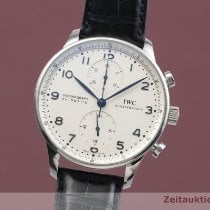 IWC Portuguese Chronograph 371417 Velmi dobré Ocel 41mm Automatika