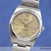 Rolex Oyster Perpetual 34 Acier 34mm Or