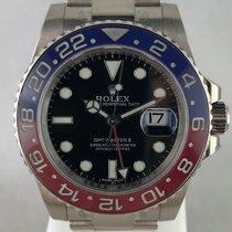 Rolex 116719BLRO Oro blanco 2015 GMT-Master II 40mm usados
