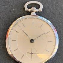 Unikatuhren Platin 43,0mm Handaufzug Taschenuhr mit Wappen Geneve gebraucht
