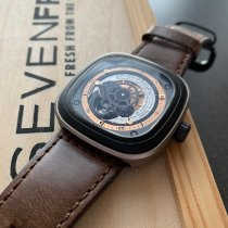 Sevenfriday P2-1 Stal 47mm Srebrny