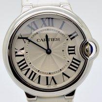 Cartier gebraucht Quarz 36mm Silber Saphirglas