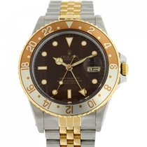 Rolex GMT-Master Staal 40mm Bruin