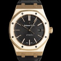Audemars Piguet Or rouge Remontage automatique Noir 41mm occasion Royal Oak Selfwinding