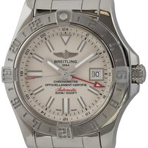 Breitling Avenger II GMT Steel 43mm Silver United States of America, Texas, Austin