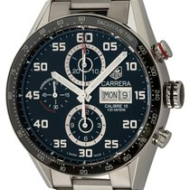 TAG Heuer Carrera Calibre 16 Steel 43mm Black Arabic numerals United States of America, Texas, Austin
