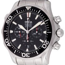 Omega Seamaster Diver 300 M occasion 42mm Noir Chronographe Date