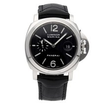 Panerai Luminor Marina Oro blanco 44mm Negro Árabes