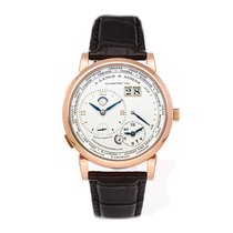 A. Lange & Söhne Lange 1 Rose gold 41.9mm Silver Roman numerals United States of America, Pennsylvania, Bala Cynwyd