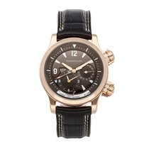 Jaeger-LeCoultre Master Compressor Geographic Roségold 41.5mm Grau Arabisch