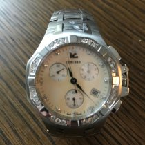 Concord Steel Quartz Mother of pearl 40mm pre-owned
