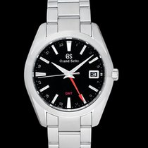 Seiko Grand Seiko Steel 40mm Black United States of America, California, Burlingame