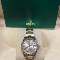 Rolex Datejust Oro/Acciaio 31mm Grigio Romano Italia, Caserta