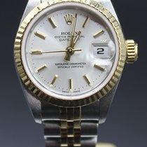 Rolex Lady-Datejust Acero y oro 26mm Gris Sin cifras