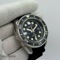 Seiko Marinemaster pre-owned Black