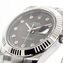 Rolex Datejust II Steel 41mm Grey No numerals United States of America, Georgia, Atlanta