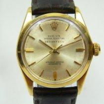 Rolex Or jaune Remontage automatique Argent Sans chiffres 30mm occasion Oyster Perpetual 31