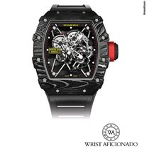 Richard Mille RM 035 Углерод 49.94mm Прозрачный Без цифр