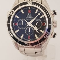 Omega Seamaster Planet Ocean Chronograph Very good Steel 45mm Automatic