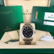 Rolex Air King Steel 40mm Black Arabic numerals United States of America, Illinois, Springfield