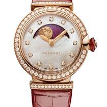 Bulgari Lucea 102686 Unworn Rose gold 36mm Automatic