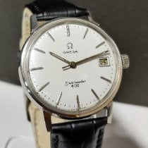 Omega Seamaster Steel 37mm White No numerals India, MUMBAI
