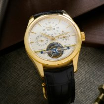 Jaeger-LeCoultre Master Grande Tradition Gelbgold 42mm Champagnerfarben