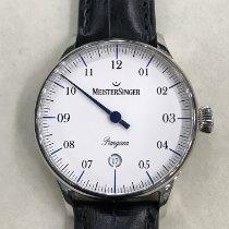 Meistersinger Pangaea Steel 40mm White Arabic numerals