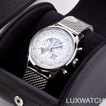 Breitling Transocean Chronograph Unitime Steel 46mm Black No numerals United States of America, Florida, Aventura
