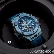 Hublot Big Bang Unico 411.YL.5190.NR.ITI16 Ny Karbon 45mm Automatisk