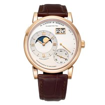 A. Lange & Söhne Grand Lange 1 Rose gold 41mm Silver United States of America, Connecticut, Greenwich