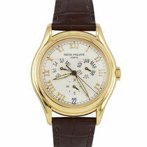 Patek Philippe Annual Calendar Yellow gold 37mm Champagne Arabic numerals United States of America, New York, Massapequa Park