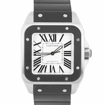 Cartier Santos 100 Steel 38mm White Roman numerals United States of America, New York, Massapequa Park