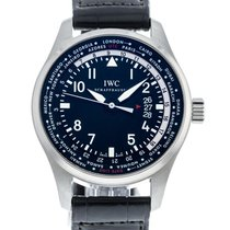 IWC Pilot Worldtimer IW3262-01 Very good Steel 45mm Automatic