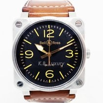 Bell & Ross Steel 42mm Automatic BR0392-ST-G-HE/SCA/2 pre-owned Singapore, Singapore