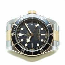 Tudor Black Bay S&G Gold/Steel 41mm Black No numerals