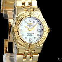 Breitling Starliner Yellow gold 30mm Mother of pearl