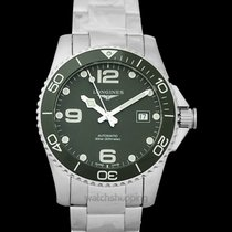 Longines HydroConquest Steel 41mm Green United States of America, California, Burlingame