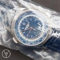 Patek Philippe World Time Chronograph Weißgold 39.5mm Blau Deutschland, München