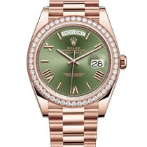 Rolex 228345RBR Or rose 2020 Day-Date 40mm nouveau