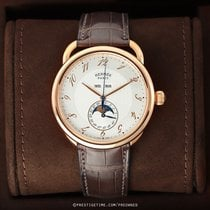 Hermès Arceau Rose gold 43mm Silver United States of America, New York, Airmont
