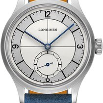 Longines Steel Automatic Silver 38.5mm new Heritage